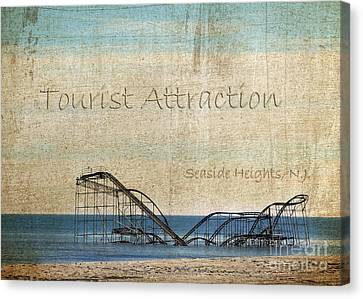 Tourist Attraction Canvas Print by Sami Martin