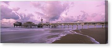 Tourist Resort At The Seaside Canvas Print by Panoramic Images