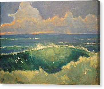 Tourmaline Surf Canvas Print by Jim Noel