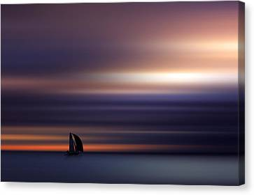 Towards The Light Canvas Print by Marek Czaja