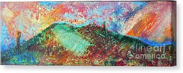 Towards The Sea Canvas Print