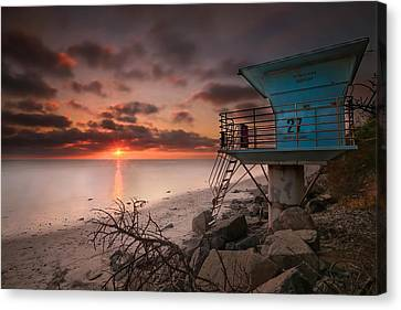 Tower 27 Canvas Print by Larry Marshall