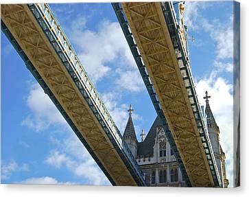 Tower Bridge Canvas Print by Christi Kraft