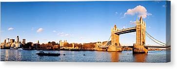 Tower Bridge, London, England, United Canvas Print by Panoramic Images