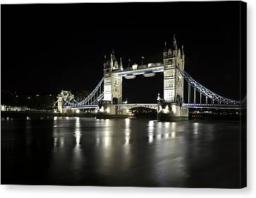 Tower Bridge London Canvas Print by Gouzel -