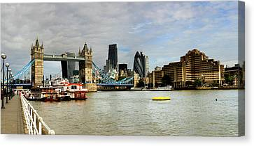 Tower Bridge London Skyline  Canvas Print by David French