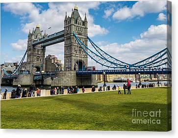 Tower Bridge Canvas Print by Matt Malloy