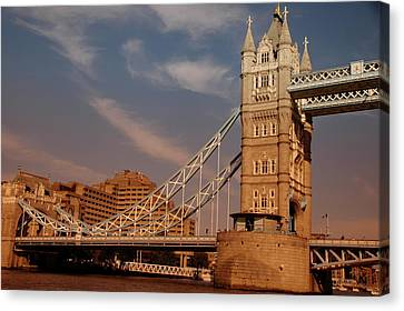Tower Bridge Sunset Canvas Print by Jonah  Anderson