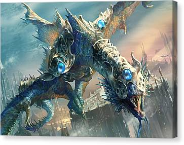 Towers Canvas Print - Tower Drake by Ryan Barger