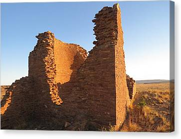 Tower Kiva At Kin Klizhin Canvas Print by Feva  Fotos