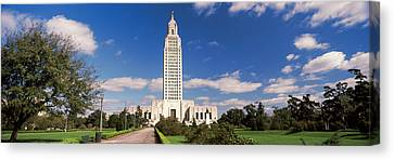 Tower Of A Government Building Canvas Print by Panoramic Images