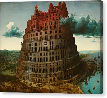 Tower Of Bable Canvas Print