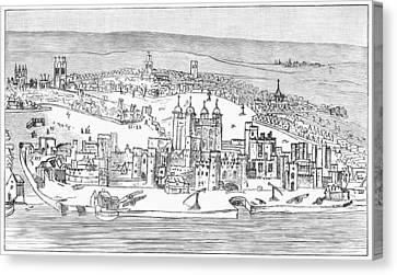 Tower Of London, C1543 Canvas Print by Granger