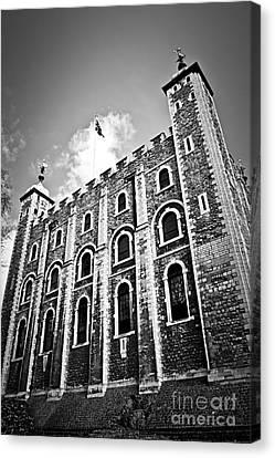 Tower Of London Canvas Print by Elena Elisseeva