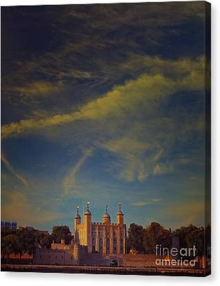 Tower Of London Canvas Print by Paul Grand
