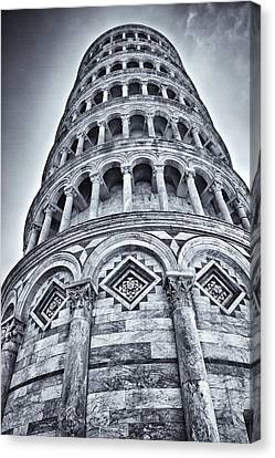 Tower Of Pisa Canvas Print