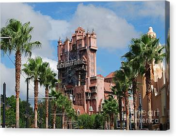 Tower Of Terror  Canvas Print by Eric Liller