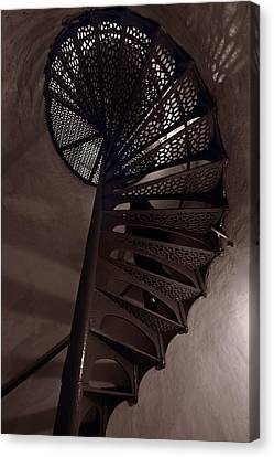 Tower Stairs Canvas Print