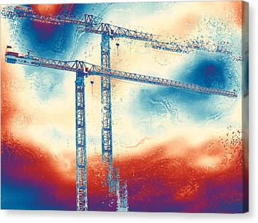 Towering 3 Canvas Print by Wendy J St Christopher