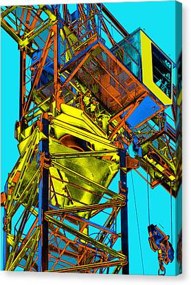 Towering 5 Canvas Print by Wendy J St Christopher