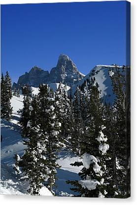 Canvas Print featuring the photograph Towering Above Lies The Grand by Raymond Salani III