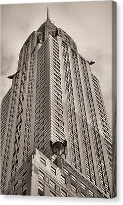 Towering Bw Canvas Print by JC Findley