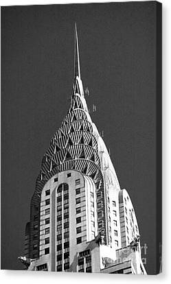 Towering Chrysler Canvas Print by David Bearden