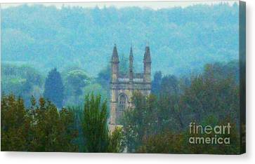Towering Over The Trees Canvas Print
