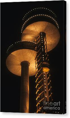 Towers Of Light Canvas Print by ELDavis Photography