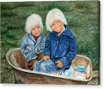Towheads Canvas Print