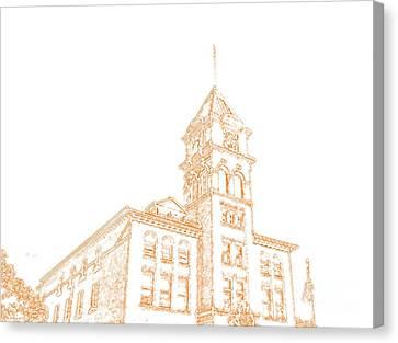 Town Hall Lancaster Ny Canvas Print