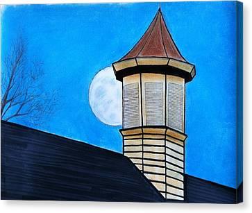 Town Hall Canvas Print by Tony Clark
