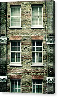 Town House Canvas Print by Tom Gowanlock
