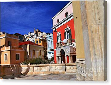 Town Of Hermes Canvas Print