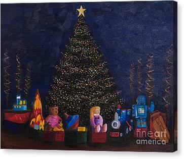 Christmas Toys Canvas Print