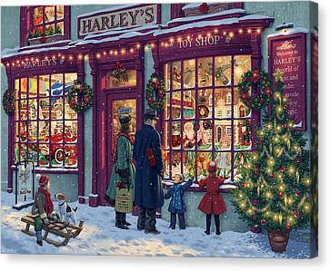 Toy Shop Variant 2 Canvas Print
