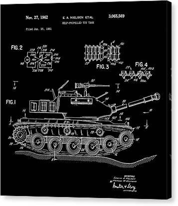 Toy Store Canvas Print - Toy Tank by Dan Sproul