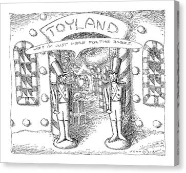 Toyland Canvas Print