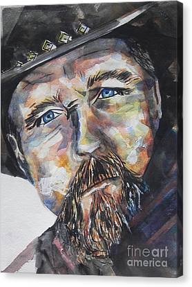 Trace Adkins..country Singer Canvas Print by Chrisann Ellis