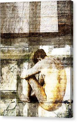 Traces 09 Canvas Print by Mark Preston