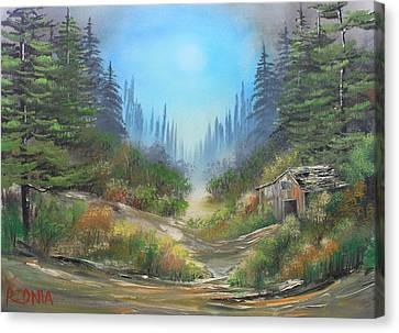 Traces Of Bygone Era Canvas Print