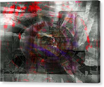 Traces Of Memory Canvas Print by Florin Birjoveanu