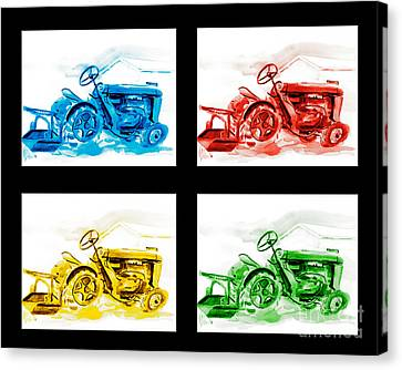Tractor Mania Iv Canvas Print by Kip DeVore