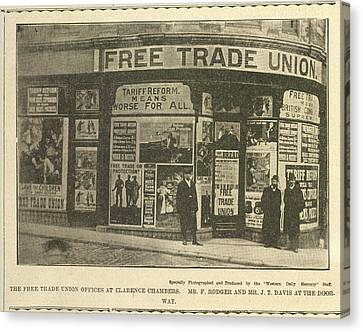 Trade Union Offices Canvas Print by British Library