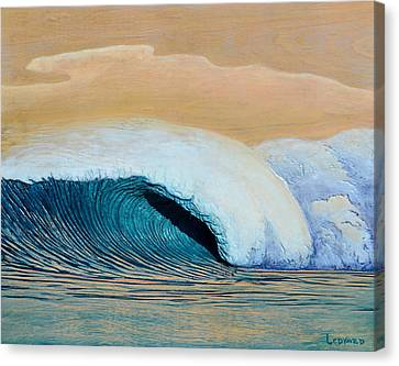 Woodcarving Canvas Print - Trade Winds by Nathan Ledyard
