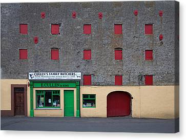 Traditional Butchers , Leighlinbridge Canvas Print