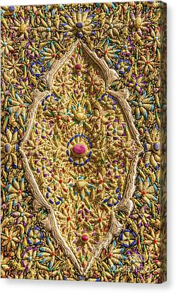 Traditional Embroidery In Jerusalem Israel Canvas Print