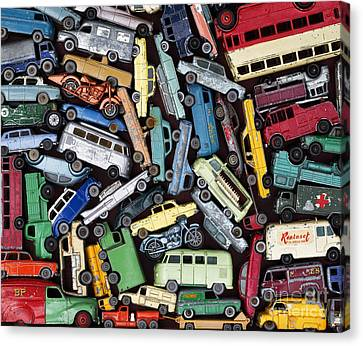 Traffic Jam Canvas Print by Tim Gainey