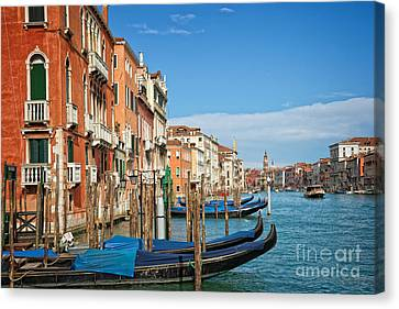 Traghetto Canvas Print by Delphimages Photo Creations