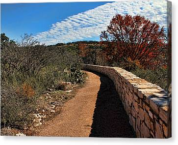 Brown Ranch Trail Canvas Print - Trail At Reimer's Ranch by Judy Vincent